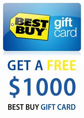 This Is So Greate You Can Get A Free 1000 Best Buy Gift Card