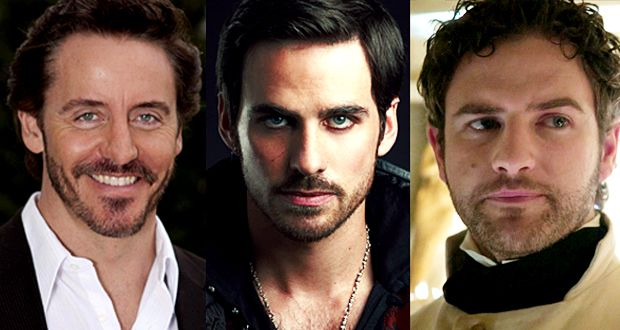 Once Upon A Time Charles Mesure Cast As Blackbeard Colin O Donoghue Captain Hook Killian Jones