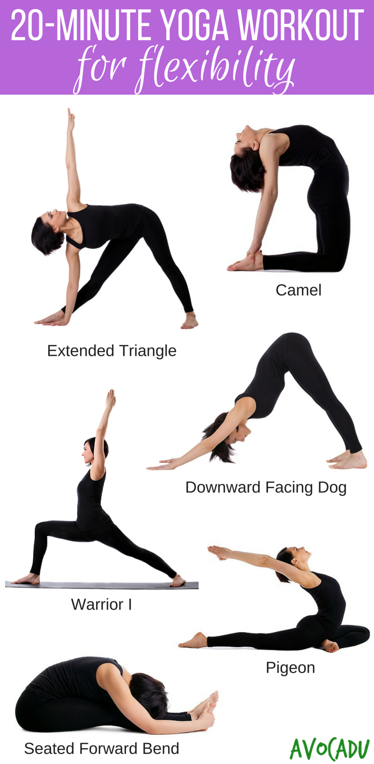 Flexibility Fast And Relieve Aches Pains With This Yoga For Beginners Workout Avocadu 20 Minute Beginner