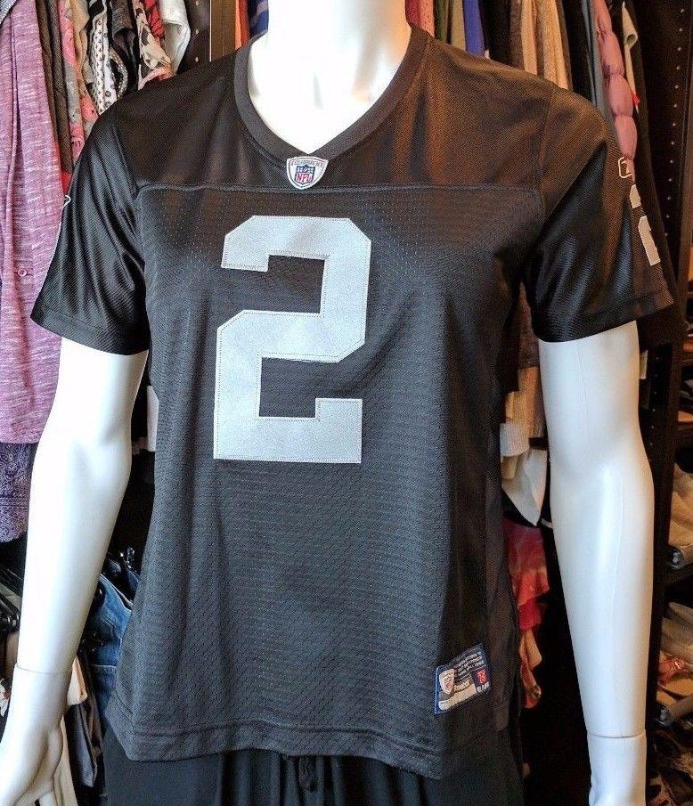 8c1b8f7f Onfield Reebok Women's NFL Jersey Oakland Raiders Jamarcus Russell ...