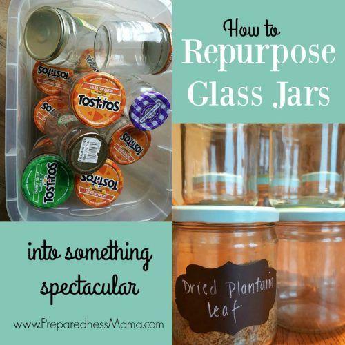 How To Repurpose Glass Jars Crafts With Glass Jars Glass Jars