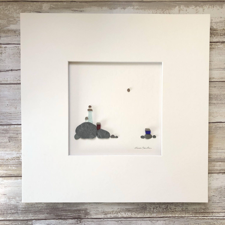 Kiesel Kunst von Sharon Nowlan Sie können wählen, wenn Sie möchten ...