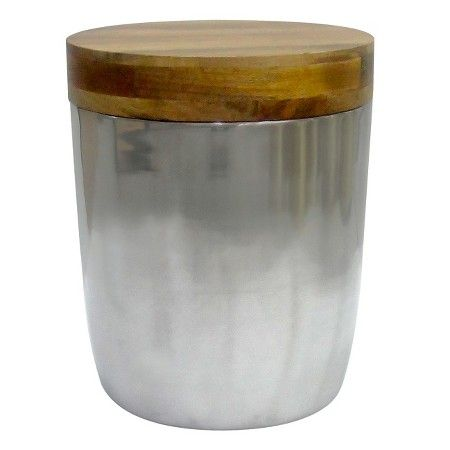 Threshold™ Silver Storage Drum Accent Table : Target $55.99