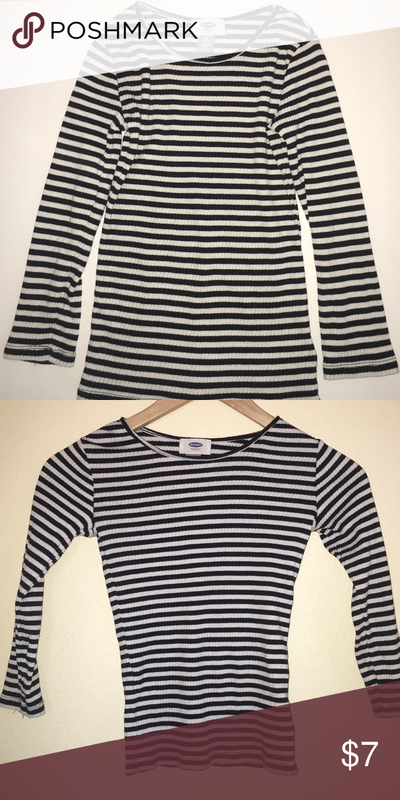 b86c3792a5fd Old Navy Kids Striped Shirt Striped. Long sleeved. Good condition. Girls S  (6-7). Old Navy Shirts & Tops Tees - Long Sleeve