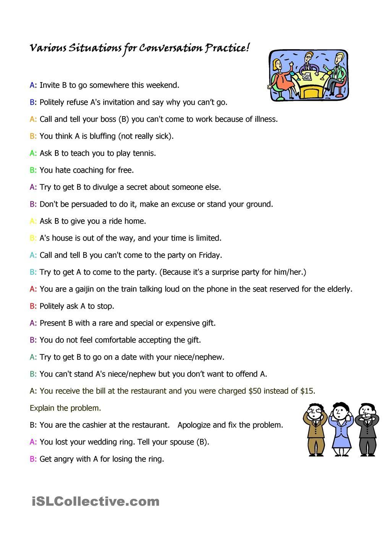 Esl Restaurant Dialogue Beginners - 0425