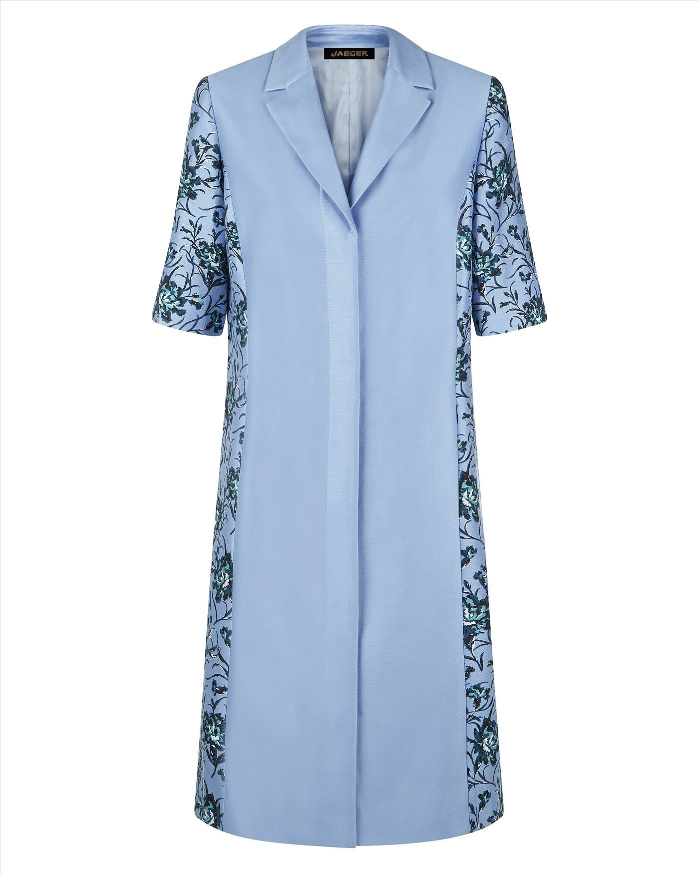 Womens powder blue coat from Jaeger - £67 at ClothingByColour.com