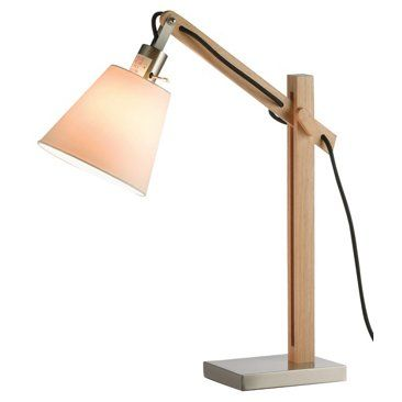 Check out this item at One Kings Lane! Walden Table Lamp, Natural