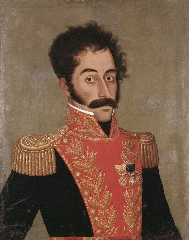 Gil de Castro, Retrato Simon Bolivar