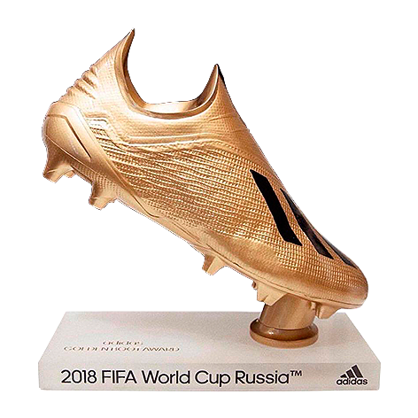 World Cup 2018 Golden Boot Trophy