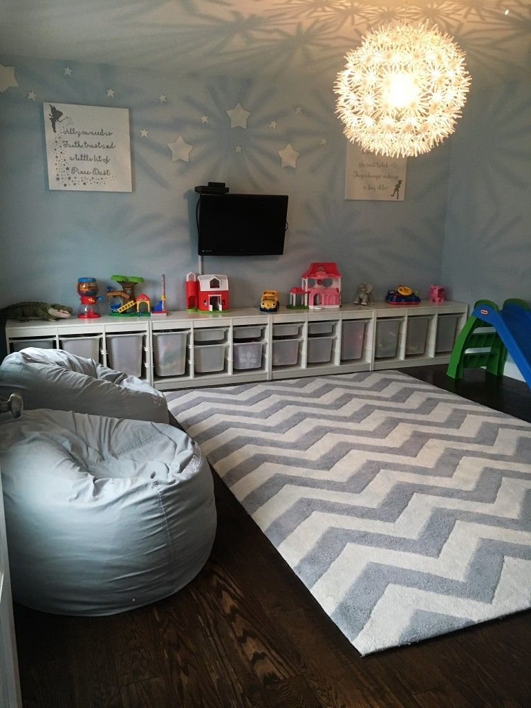 Peter Pan Quote Inspired Playroom | Habitaciones niños ikea, Mis ...