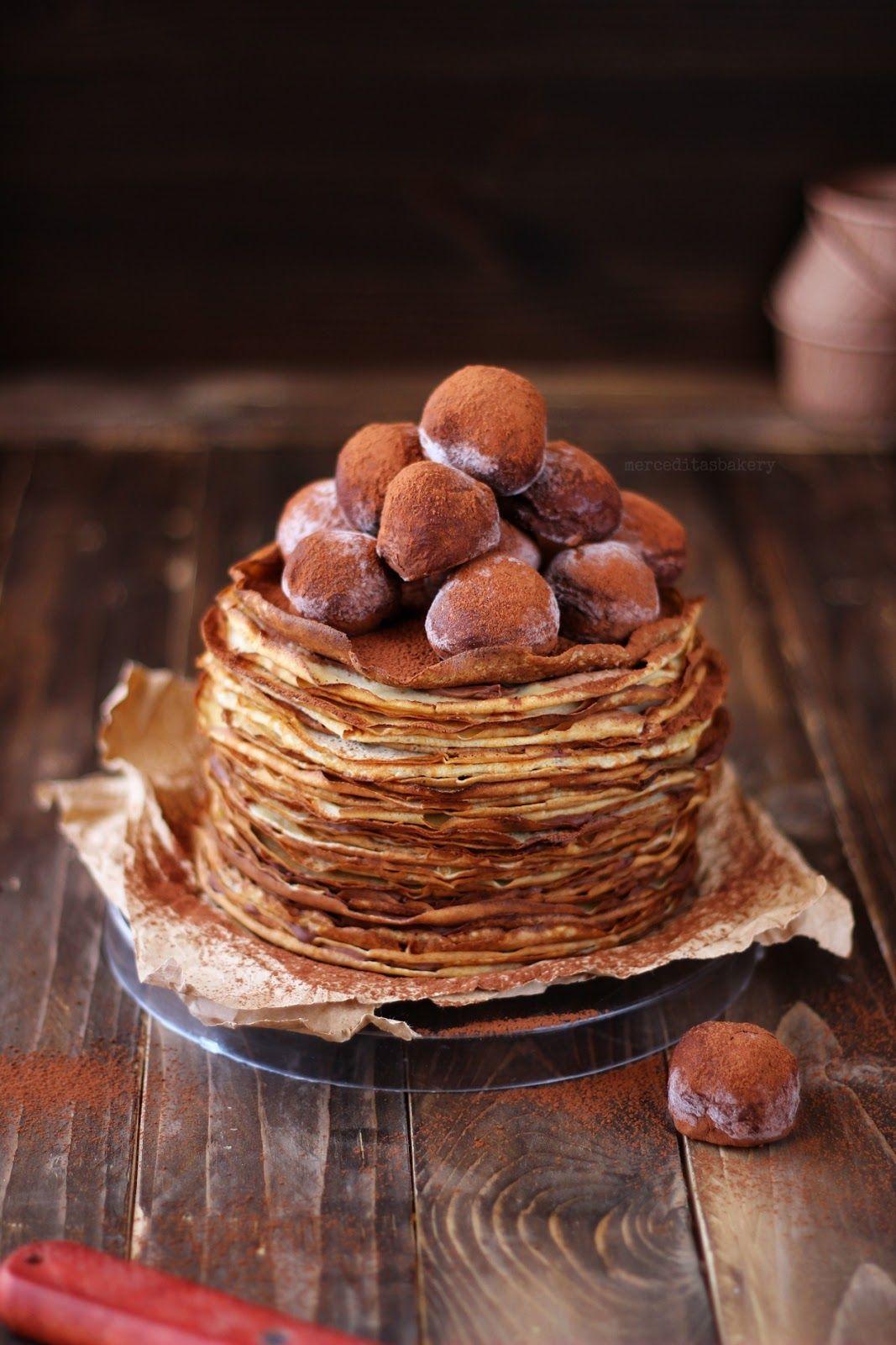 Tarta De Crêpes De Café Y Baileys Tartas Comidas Dulces Dulces Y Salados