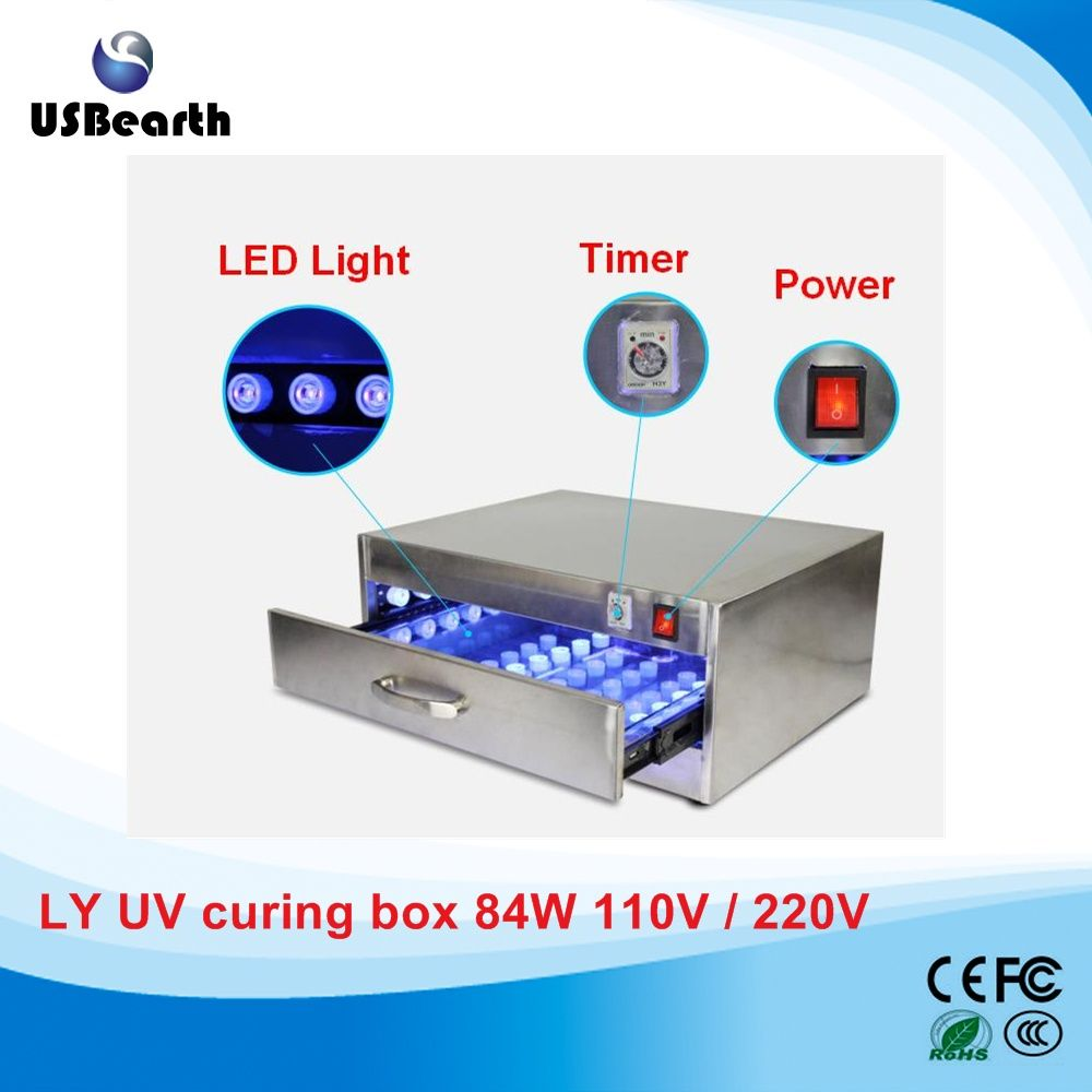 84W LED UV Curing Lamp UV Curing Box UV Curing Oven UV glue