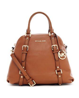 MICHAEL Michael Kors Bedford Large Bowling Satchel Bag | Handbags ...