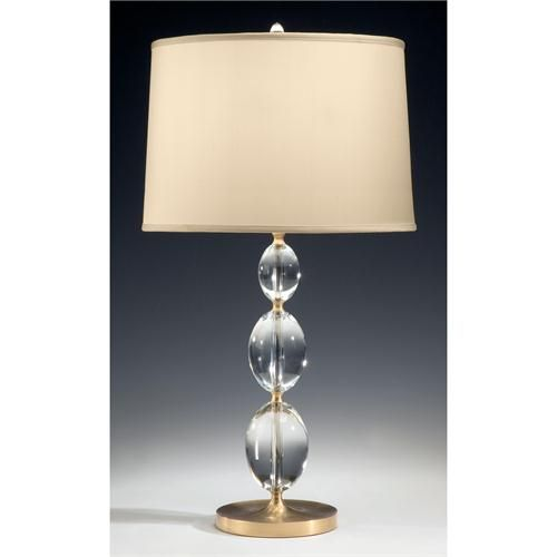 Solid crystal and antique brass lamp 8090 from decorative crafts