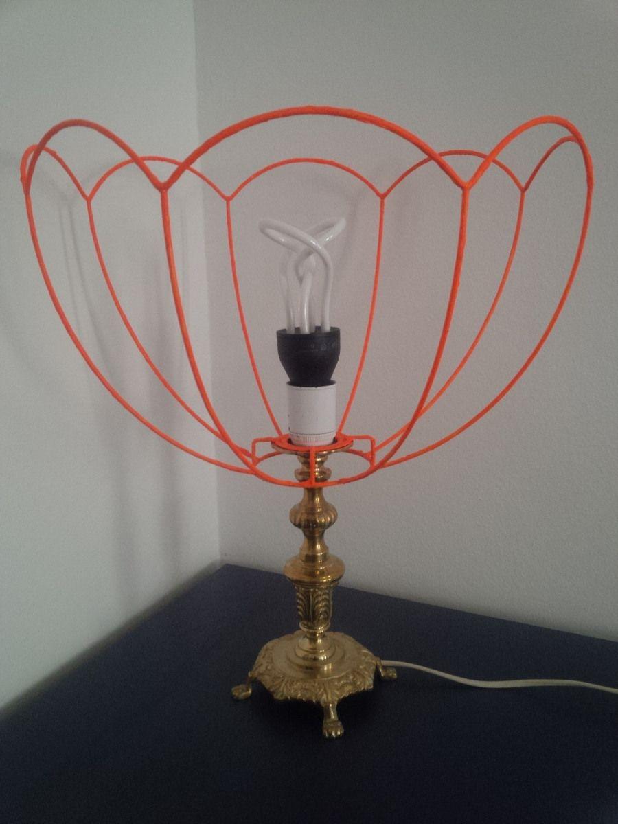 DIY bunter Lampenschirm aus Draht von DO-ITeria www.doiteria.com