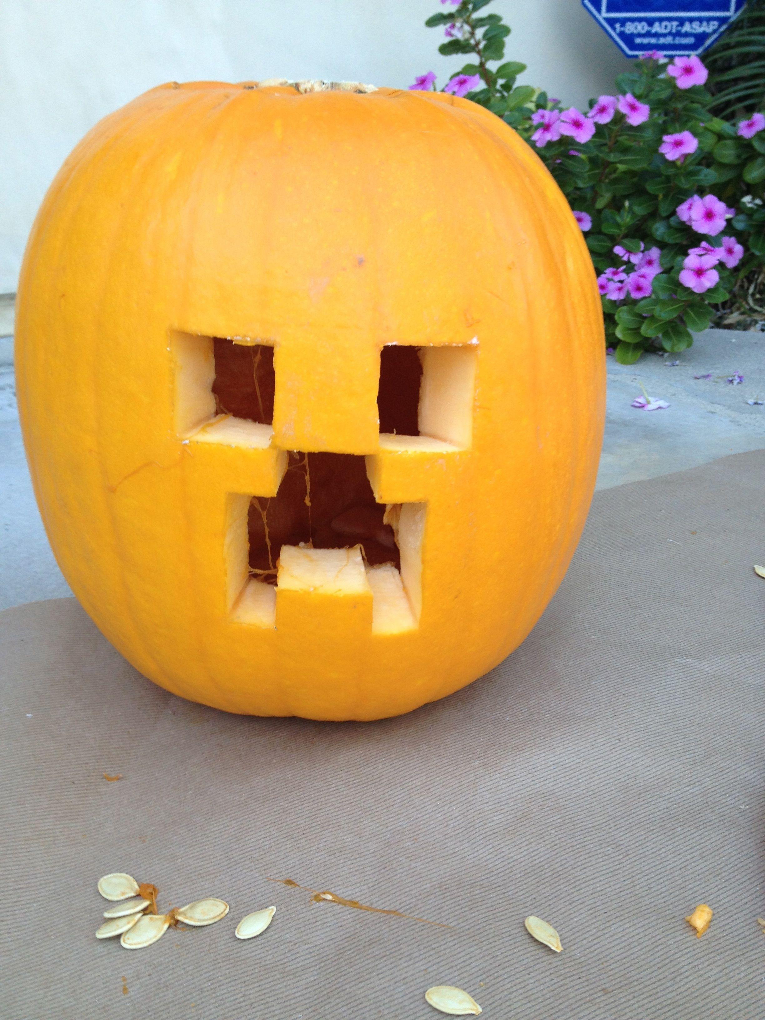 Image result for minecraft pumpkin carving ideas | Pumpkin ...