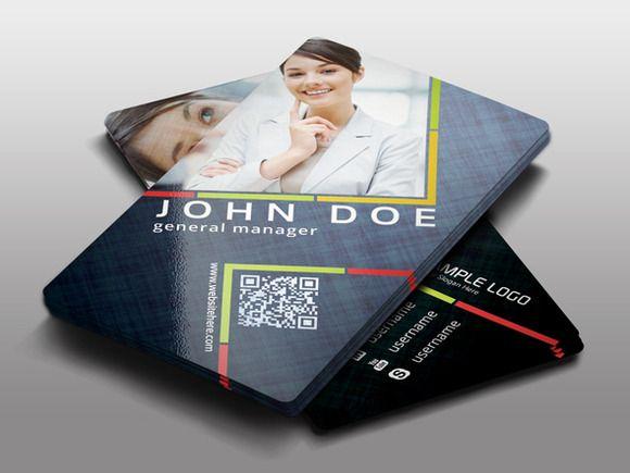Creative Business Card Template by pmvchamara on Creative Market - id card psd template