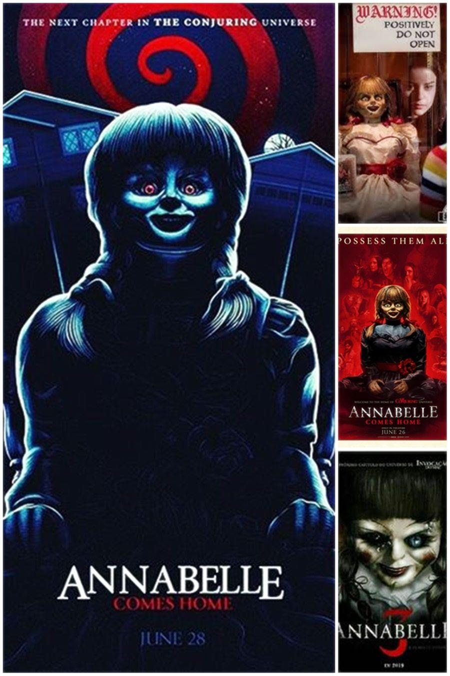 Ver Annabelle 3 Vuelve A Casa 2019 P E L I C U L A Hd Completa Horror Movie Characters Horror Movie Art Horror Movie Posters