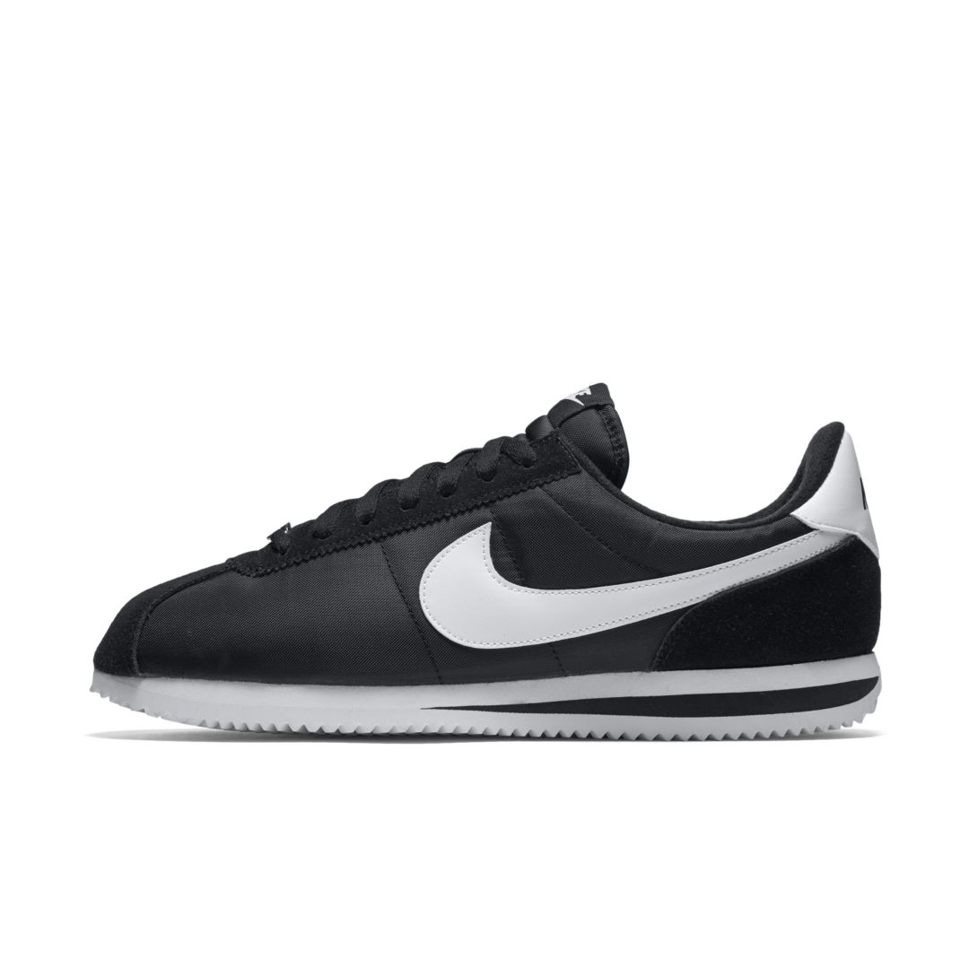 low priced a85f4 acaad Nike Cortez Basic Nylon Men s Shoe Size 10.5 (Black)