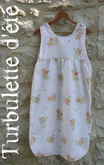 Fabuleux Turbulette d'été , Patron couture gratuit - Loisirs créatifs  BZ95