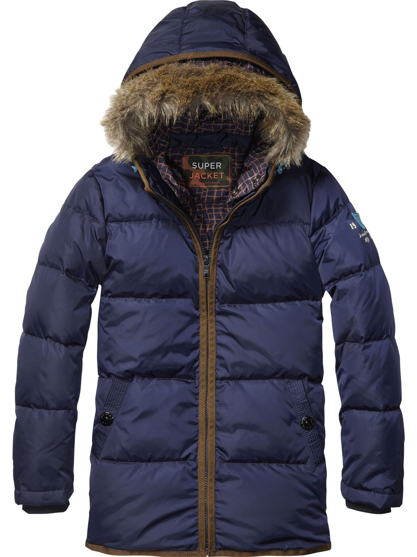 Longer Length Nylon Jacket   Jackets   Boy's Clothing at Scotch & Soda