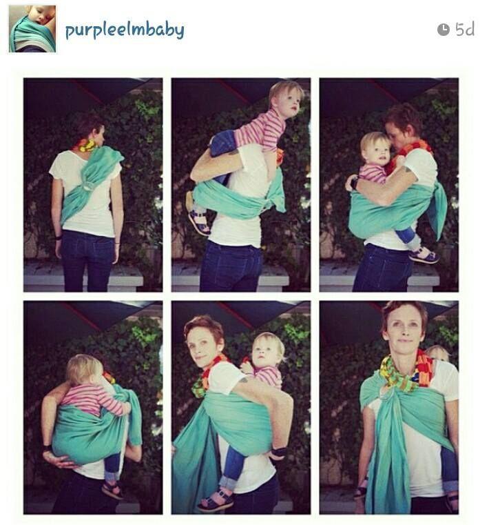 Tutorial Back Carry Babywearing Pinterest Baby Wearing
