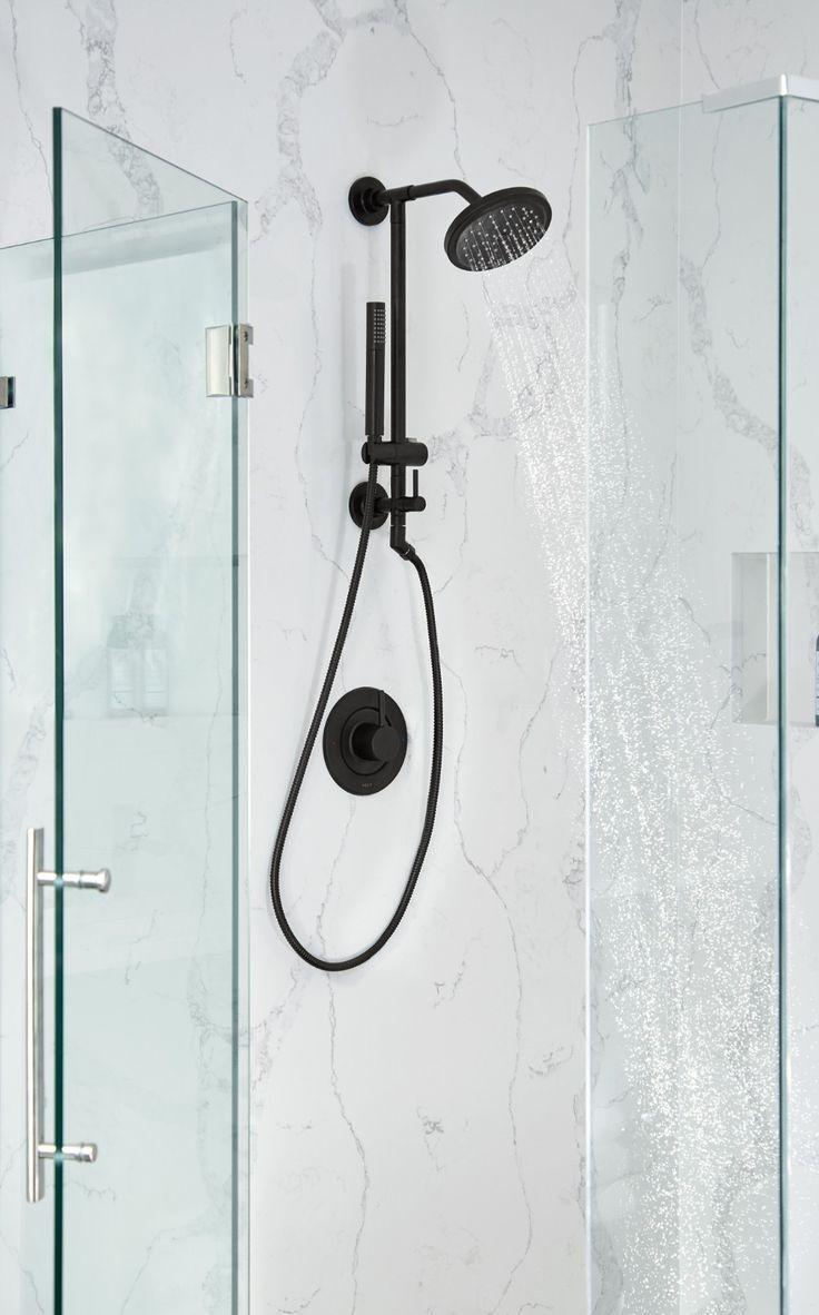Photo of Annex Matte black shower only  — TS3661NHBL