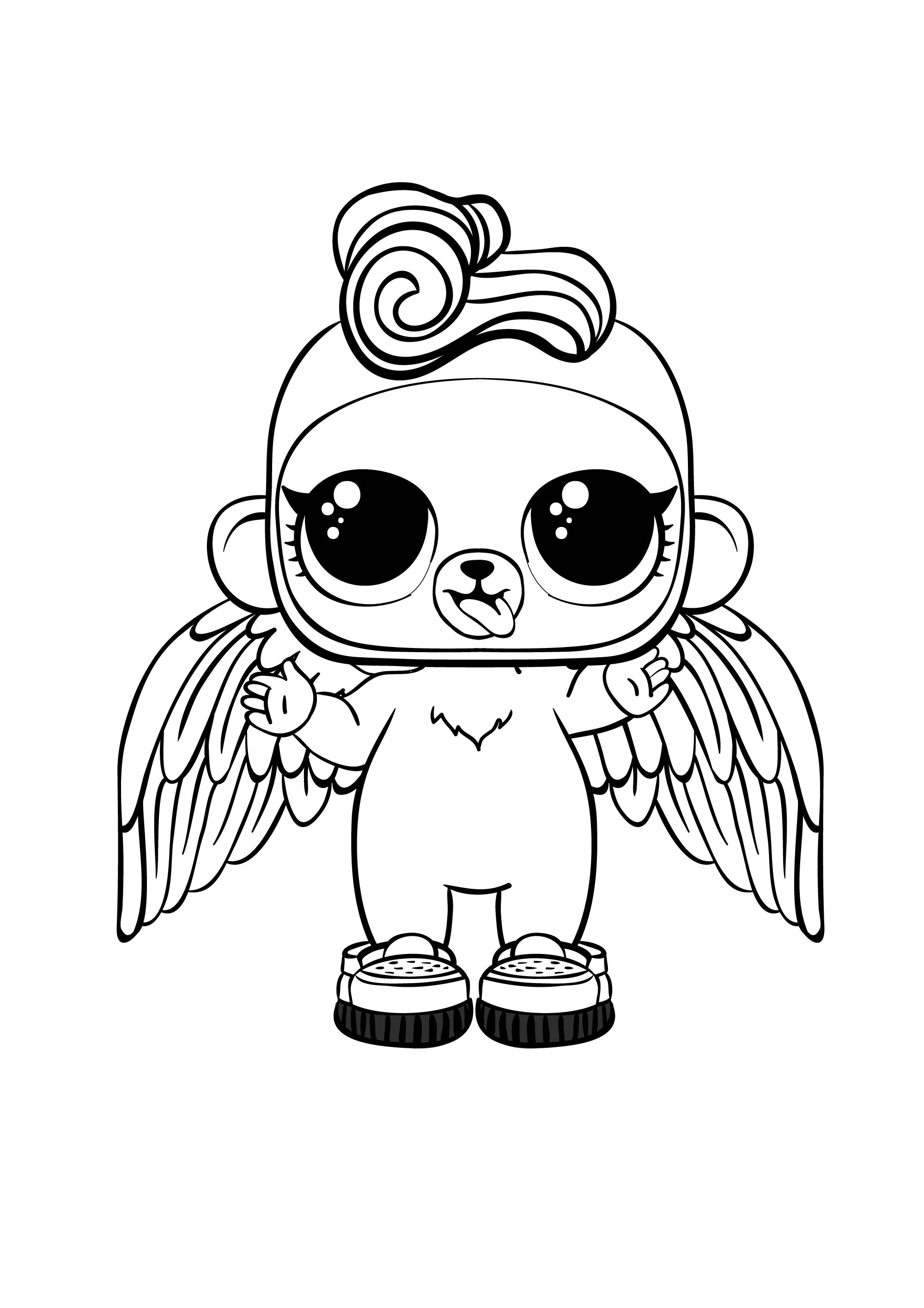 Coloring Pages Lol Surprise Hairgoals And Lol Surprise Boys Lolsdolls Monkey Coloring Pages Cool Coloring Pages Animal Coloring Pages