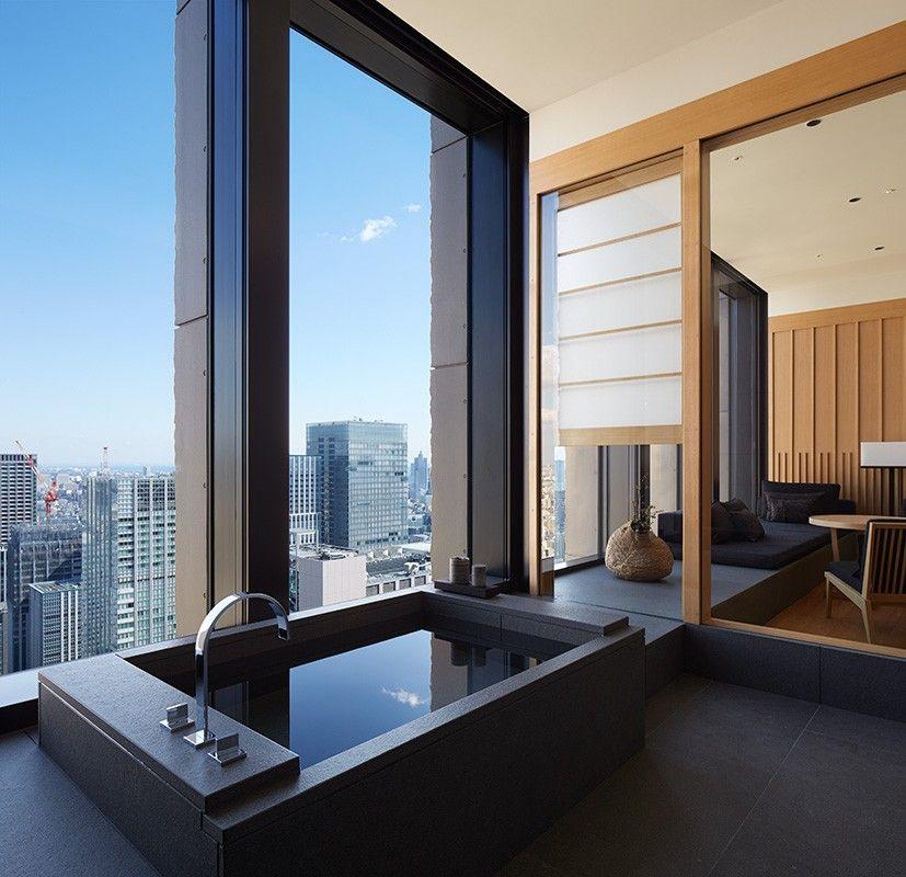 Explore Aman Tokyo Our Luxury Hotels Hotel Bathroom