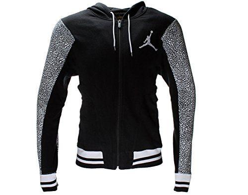 Nike Air Jordan Varsity Elephant Full-Zip Mens Hooded Jacket - http://airjordankicksretro.com/nike-air-jordan-varsity-elephant-full-zip-mens-hooded-jacket/