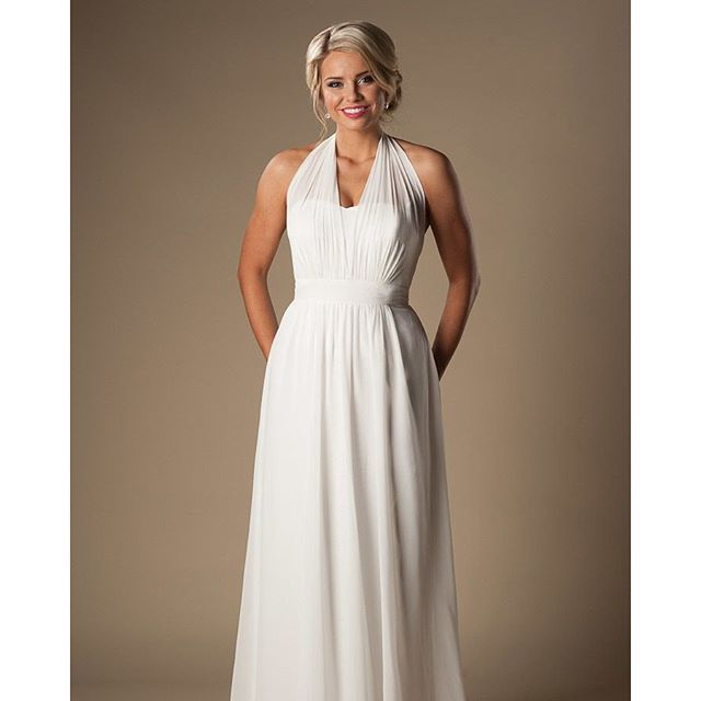Here is another of our unique informal bridal line...All the dresses in this line are $395 and are perfect for a beach wedding or small, intimate celebration in the mountains! #weddingdress #weddinggown #bridetobe #engaged #bridal #instawedding #ido #brid