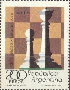 Sello: Chess (Argentina) Mi:AR 1360,Sn:AR 1200,Yt:AR 1143,Göt:AR 1828