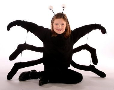 fun easy halloween costumes you can make at home spider costume kidslego - Kids Spider Halloween Costume