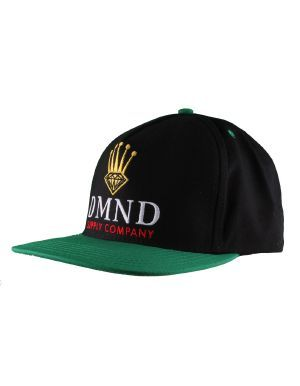 4543d6d090b Diamond Supply Co. Diamond Crown Snapback Hat   Black Green ...