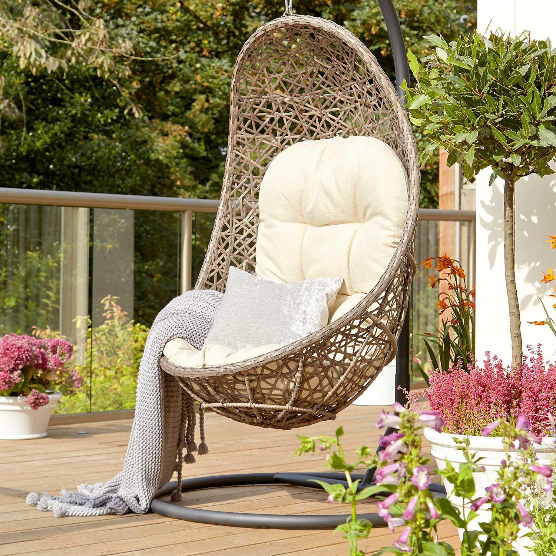 Birds Nest Hanging Rattan Garden Furniture Egg Chair