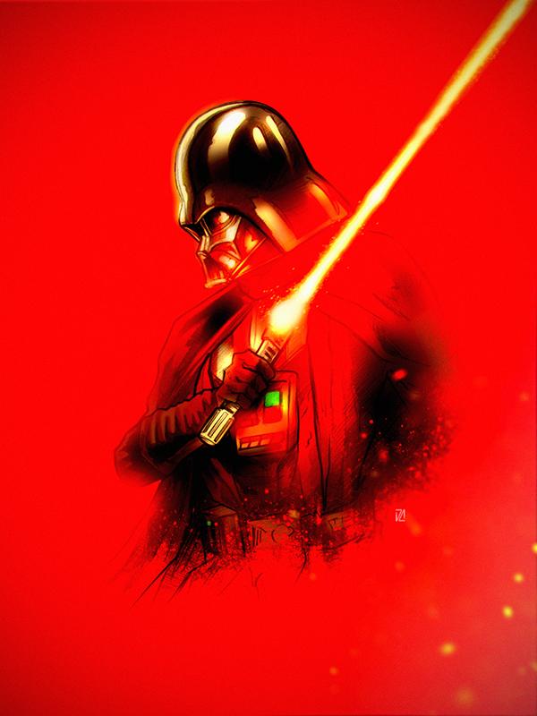 Vader S Red Lightsaber Star Wars Images Star Wars Tribute Star Wars Wallpaper