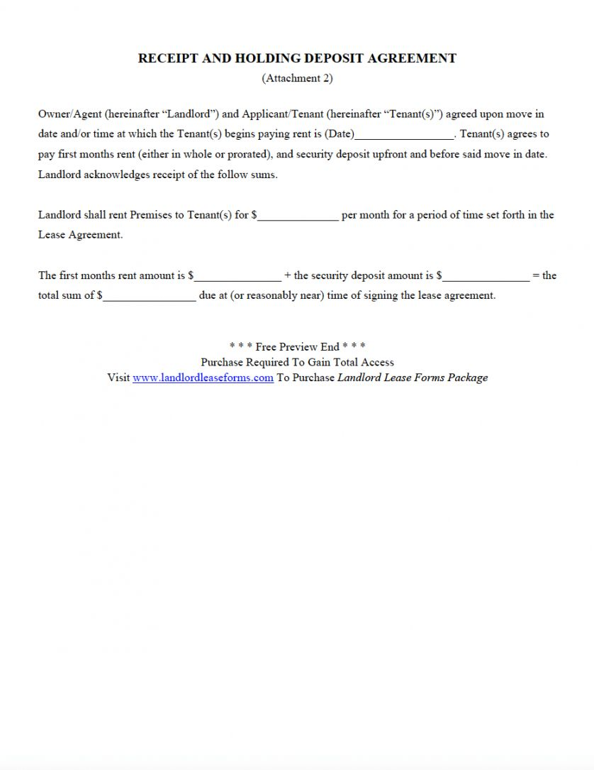 Get Our Image Of Apartment Rental Deposit Agreement Rental Agreement Templates Lettering Being A Landlord