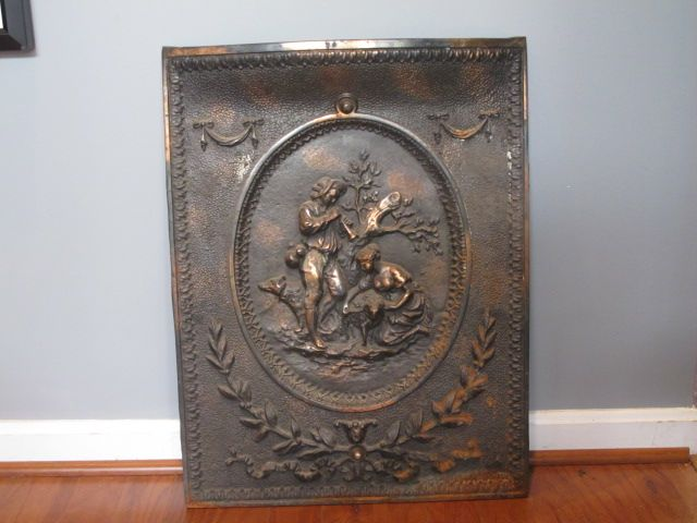 Antique Victorian Cast Iron Fireplace Screen Cover Vintage Fireplace Cast Iron Fireplace Victorian Fireplace Screens