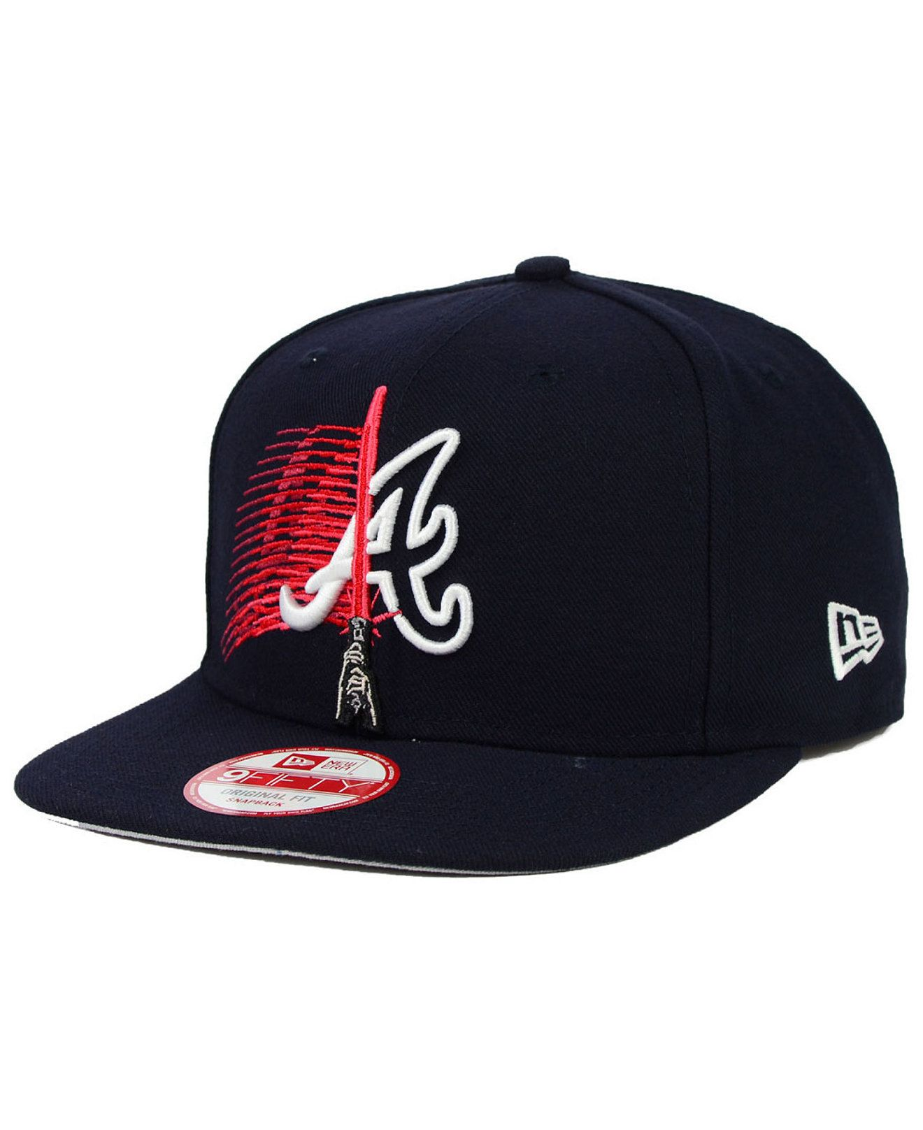 9677ea23 New Era Atlanta Braves Star Wars Logoswipe 9FIFTY Snapback Cap - Sports Fan  Shop By Lids - Men - Macy's