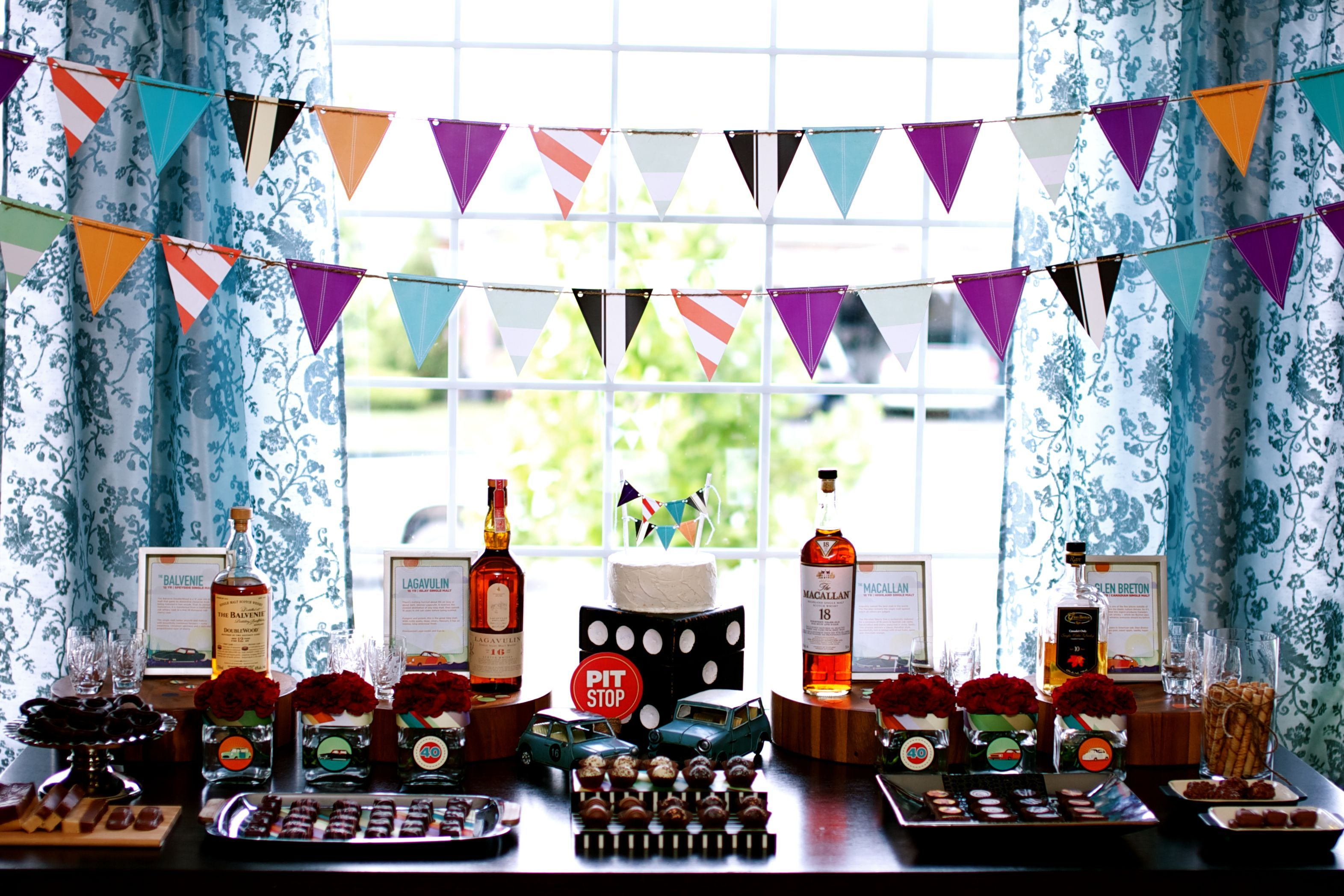 Scotch Chocolate birthday party I like the concept but would