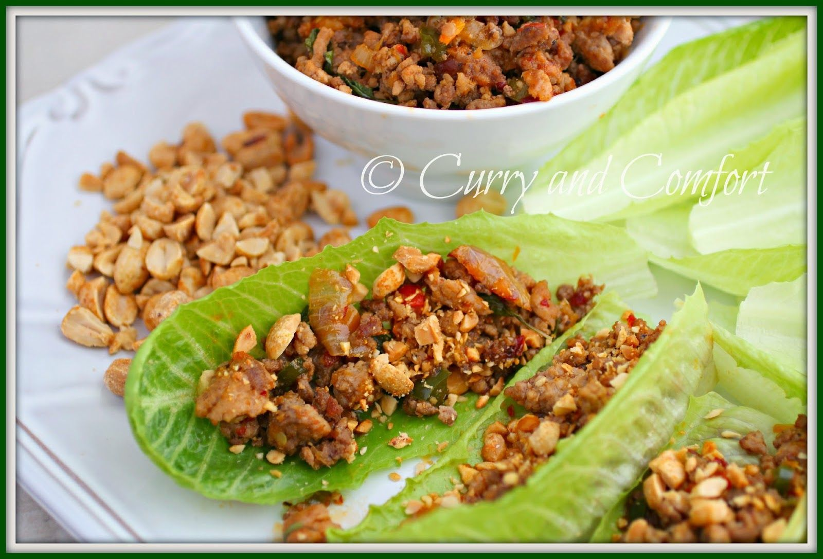 Curry and Comfort: Thai Lettuce Wraps