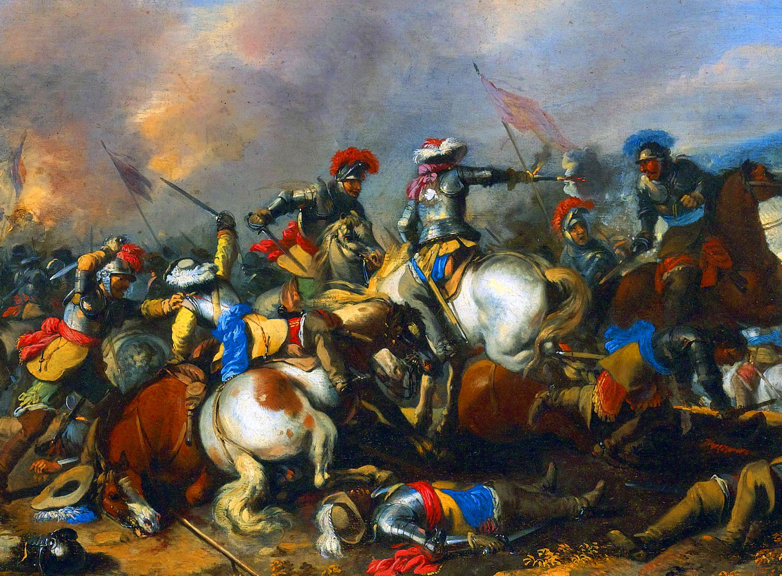 Brutal Melee Battle During The Thirty Years War By