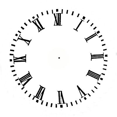 Free Printable Clock Faces  It Look More Like I Clock I Married