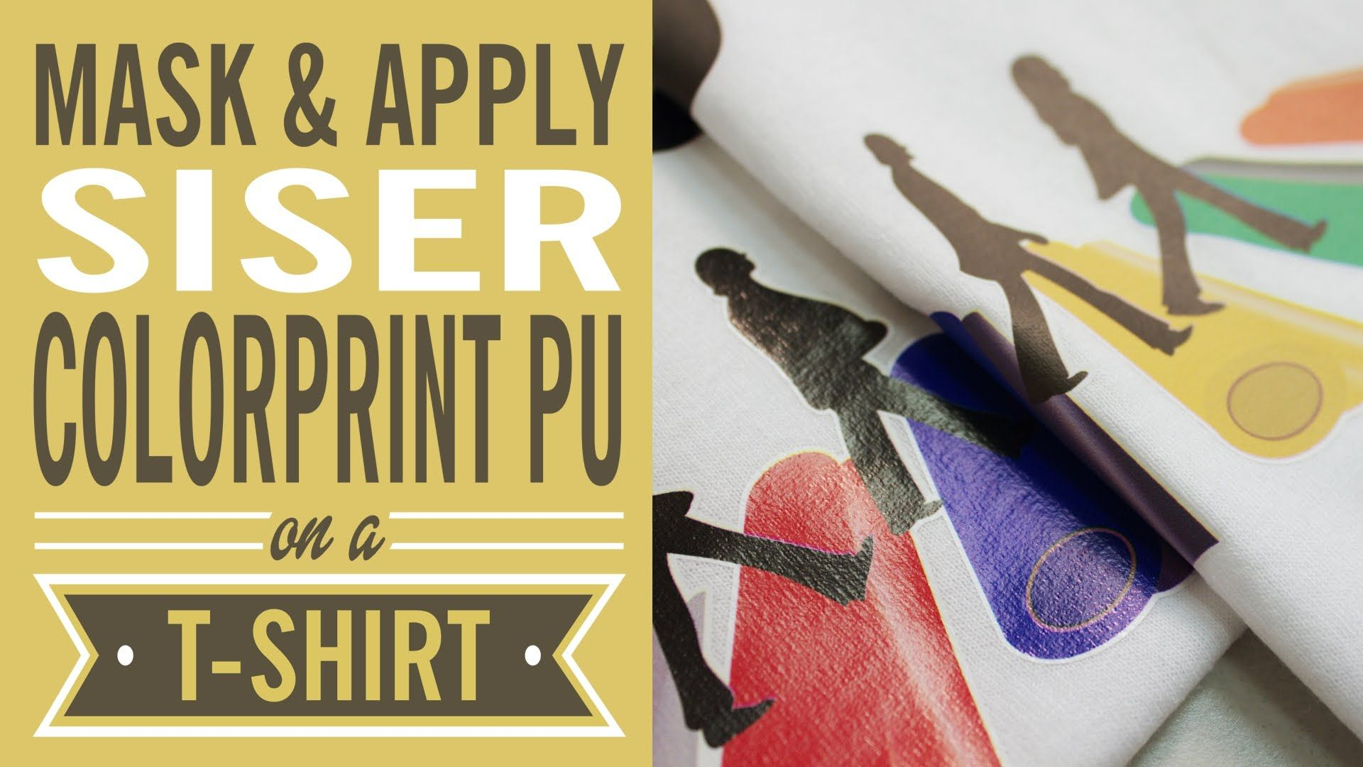 So you've been itching to try your hand at ColorPrint PU by