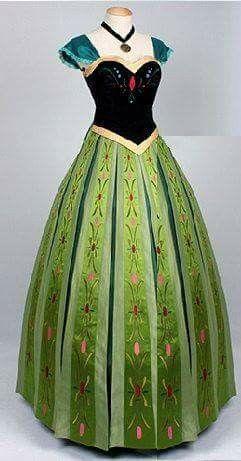 Frozen Ana's dress