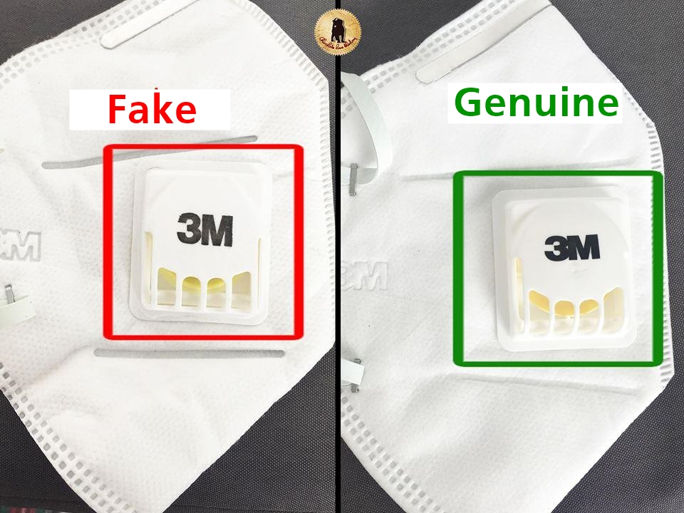 Beware of fake N95 masks in the market right now. in 2020