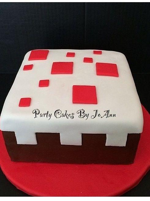 """Mine Craft """"cake"""""""