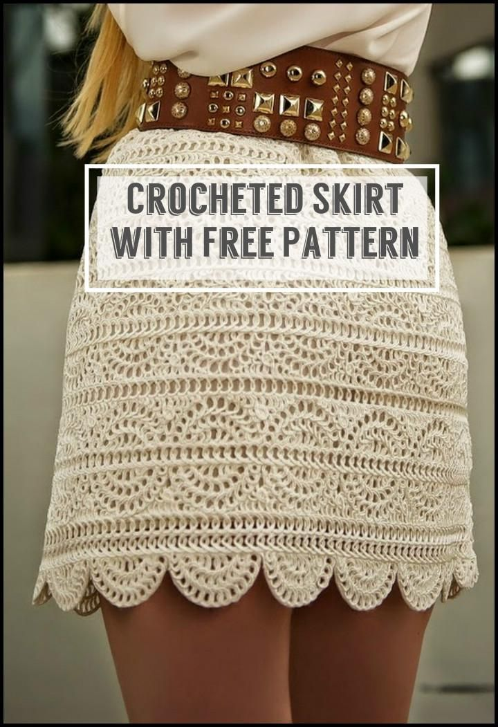 110+ Free Crochet Patterns for Summer and Spring | Privat, Rock und ...
