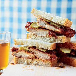 Nashville Hot and Crispy Chicken Sandwiches Recipe - Delish