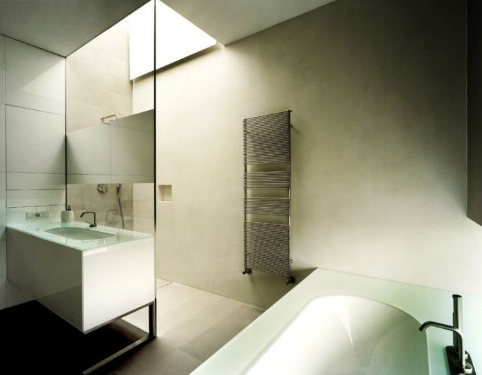 Bagno senza piastrelle bathroom without tiles idee per - Bagno senza piastrelle ...